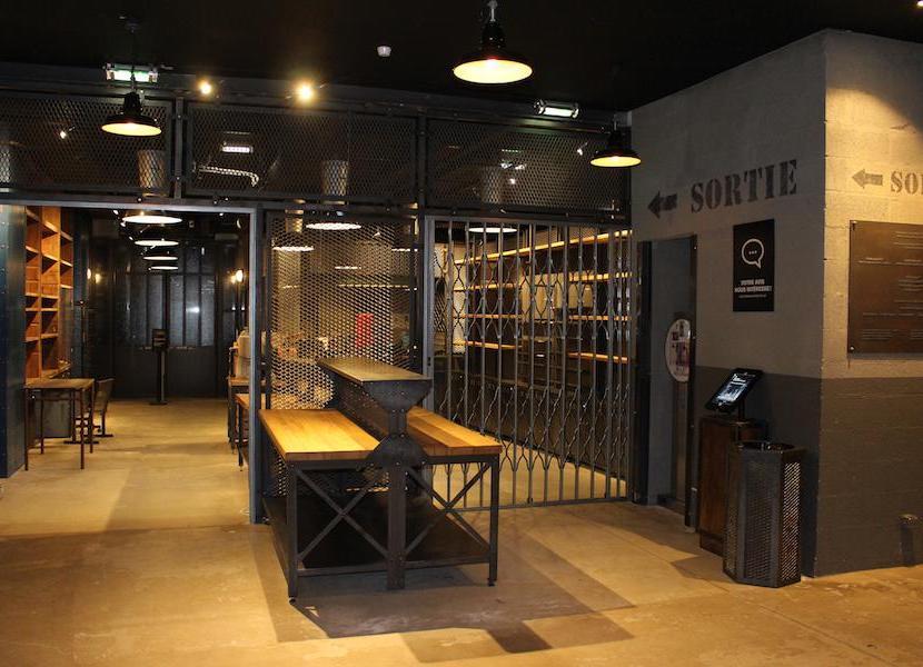 Aménagement intérieur Atelier des Lumières Paris